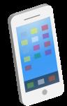 アプリアイコンと検索窓あり