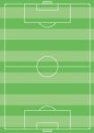 サッカーのフィールド(芝生つき/国際サイズの最大)
